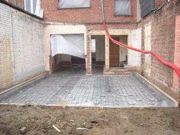 ruwbouw bij renovatie