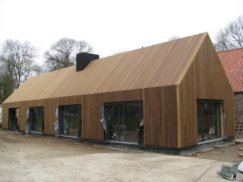 Alle realisaties de noordboom - Interieur gevelbekleding houten ...