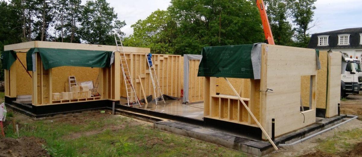 """Nieuwbouwwoning in houtskeletbouw """"Klosse"""""""